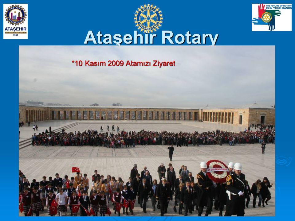 Ataşehir Rotary *10 Kasım 2009 Atamızı Ziyaret