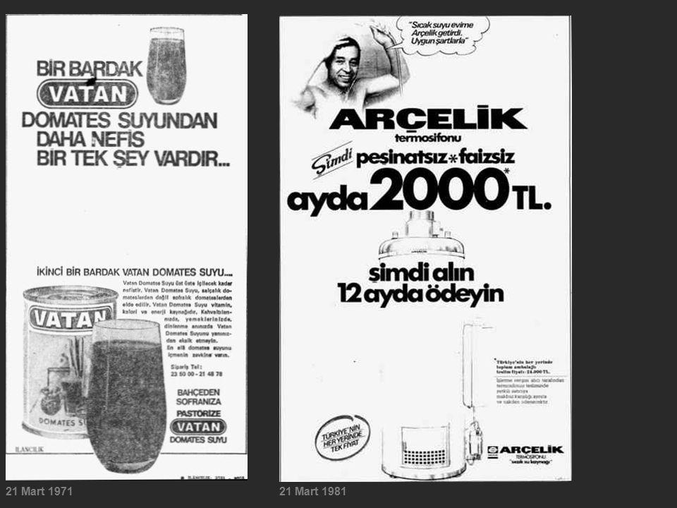 21 Mart 197121 Mart 1981