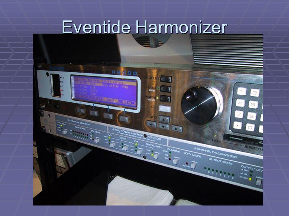 Eventide Harmonizer