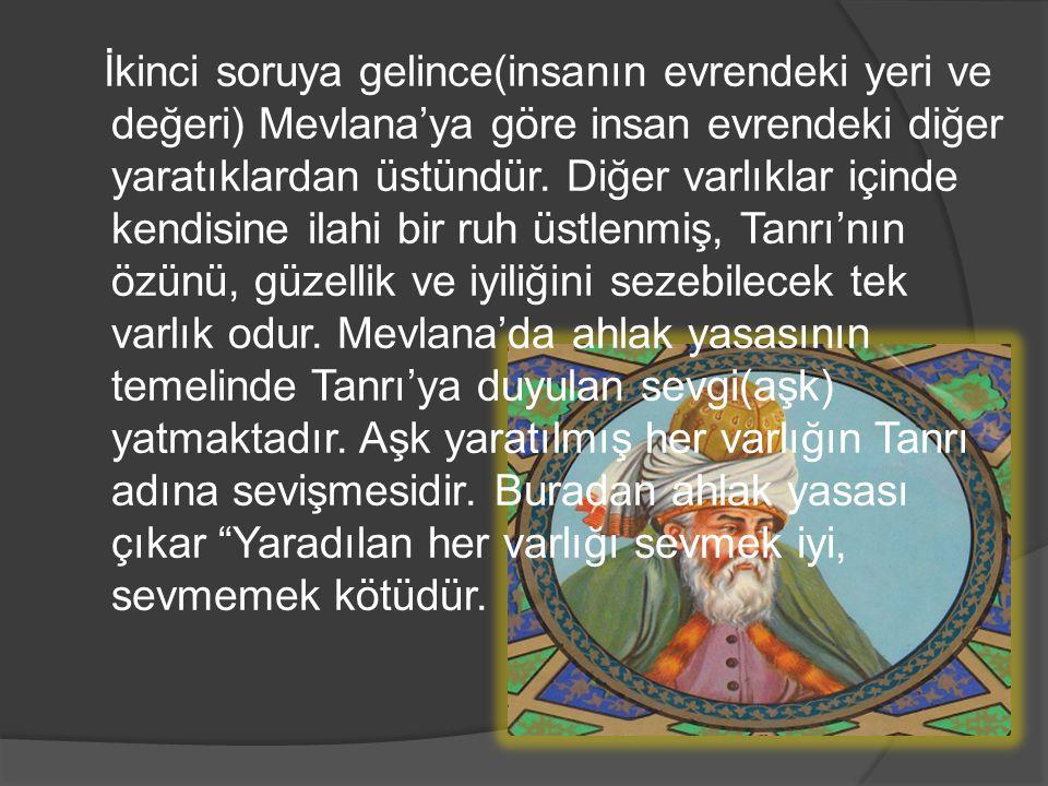 YUNUS EMRE  Türk şairi ve düşünürüdür.Yunus'a göre tek gerçek Tanrı(Hakk)dır.
