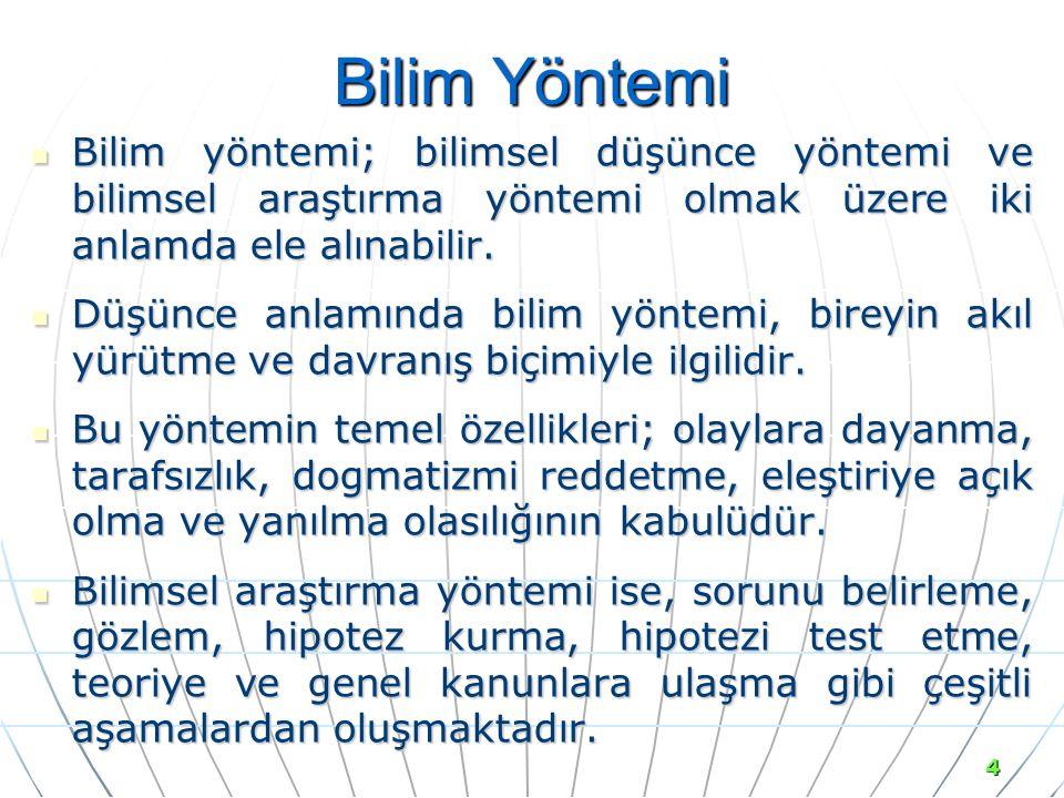 DERLEME ESER veya KONGRE BİLDİRİLERİ İÇİNDEKİ MAKALE Cevat GERNİ (1992).