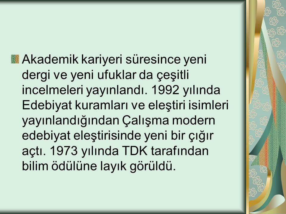 Türk Romanına Eleştirel Bir Bakış - 2: Sabahattin Ali den Yusuf Atılgan a (1990 İncelemesinin 2.
