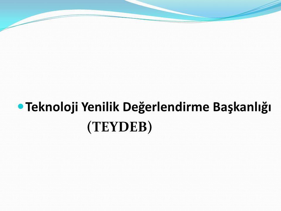 Teknoloji Yenilik Değerlendirme Başkanlığı (TEYDEB)