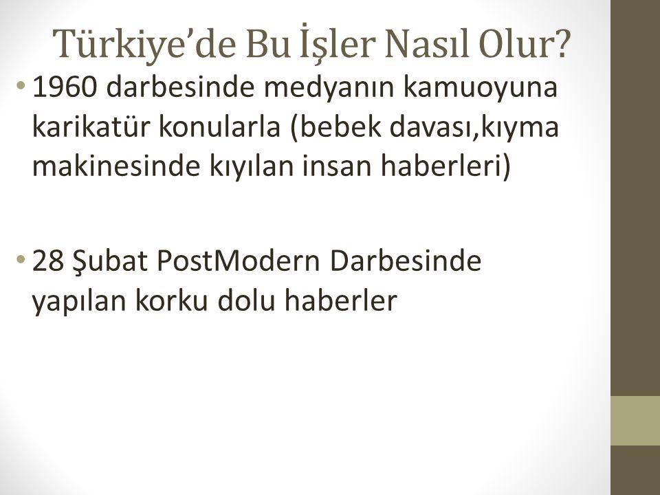 Türkiye'de Bu İşler Nasıl Olur.