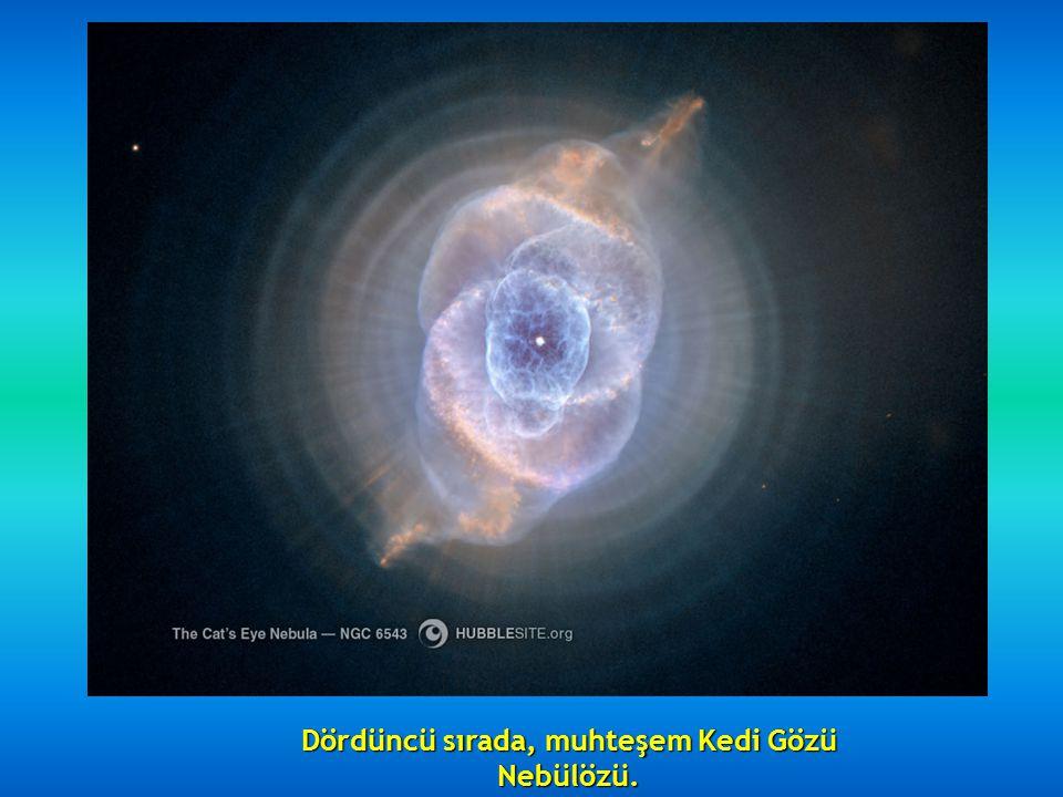 Sonra, NGC 2392 Eskimo Nebülözü, 5000 ışık yılı uzaktadır.