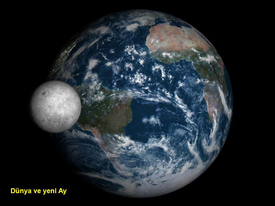 Ay ışığı ile dünya