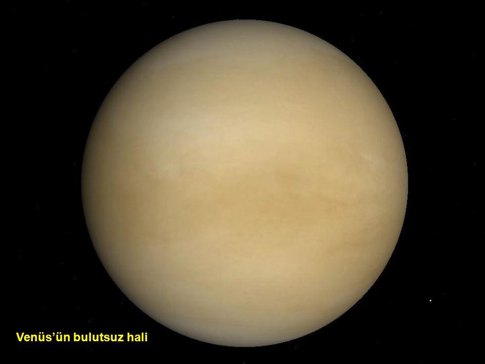Venüs'ün bulutlu hali