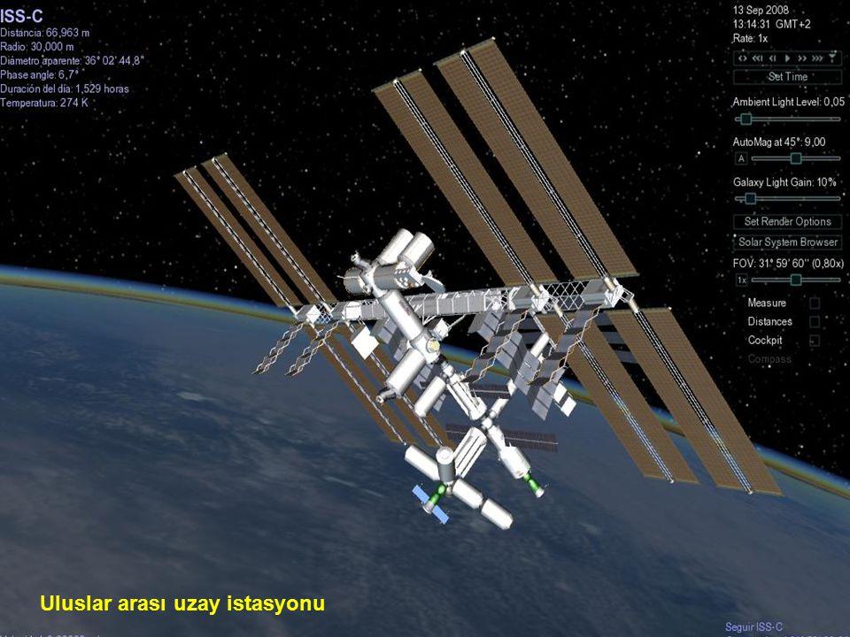 Uzay teleskopu teleskopu Hubble, Hubble, robot haline getirilmiş bir şekilde, şekilde, yer yüzündeki deniz seviyesinden seviyesinden 593 km yüksekliğinde, atmosferin hemen üstünde ki bir yörüngeye yerleştirilmiş olup, saatte 28.000 km.
