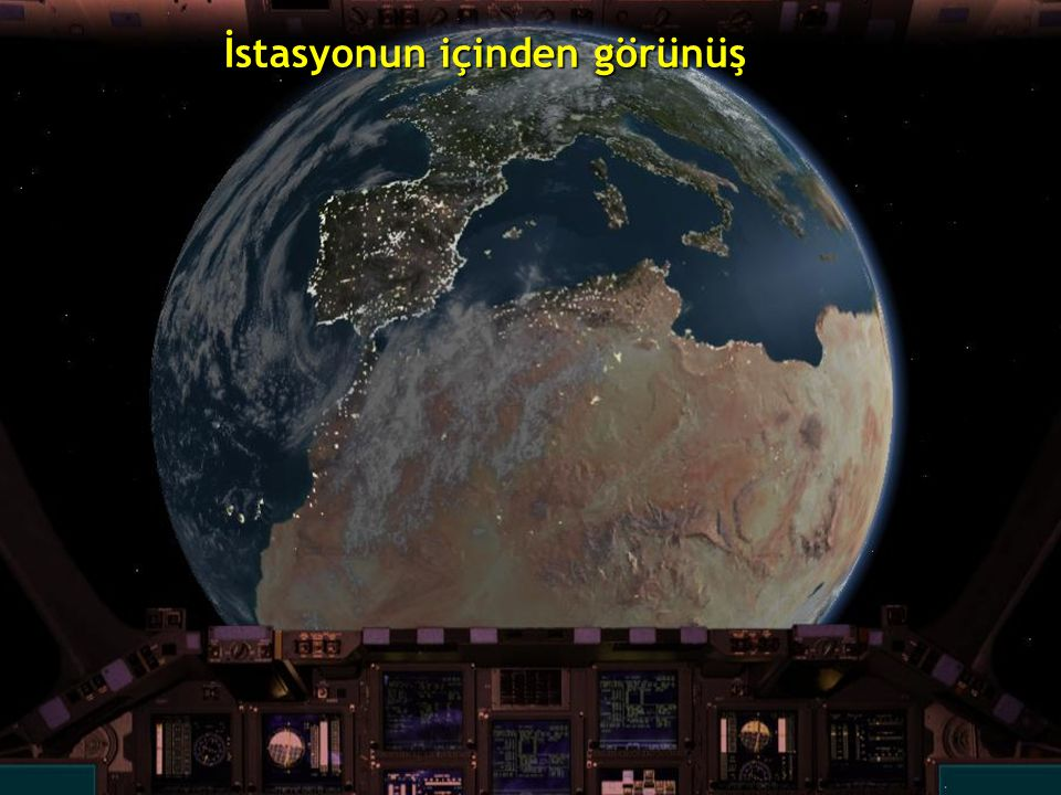 Uluslar arası uzay istasyonu