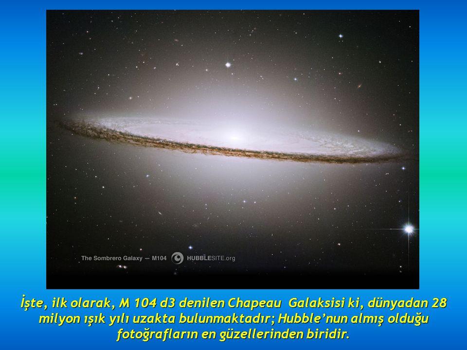 Hubble'nun görünüşü Hubble'nun görünüşü