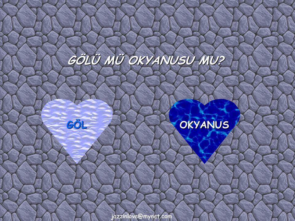 jazzinlove@mynet.com GÖLÜ MÜ OKYANUSU MU OKYANUSGÖL