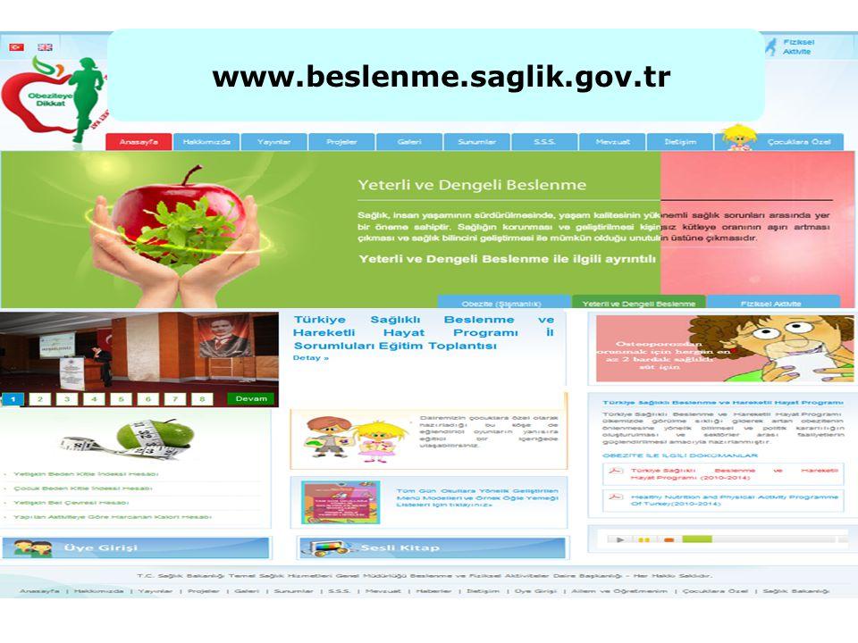 www.beslenme.saglik.gov.tr