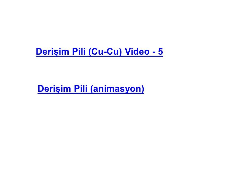 Derişim Pili (Cu-Cu) Video - 5 Derişim Pili (animasyon)