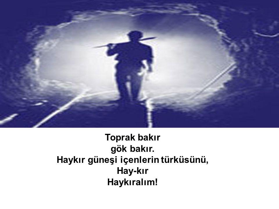 Nazım Hikmet – Güneşi İçenlerin Türküsü şiirinden... Derleyen: Sedef E.