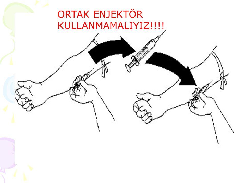 ORTAK ENJEKTÖR KULLANMAMALIYIZ!!!!
