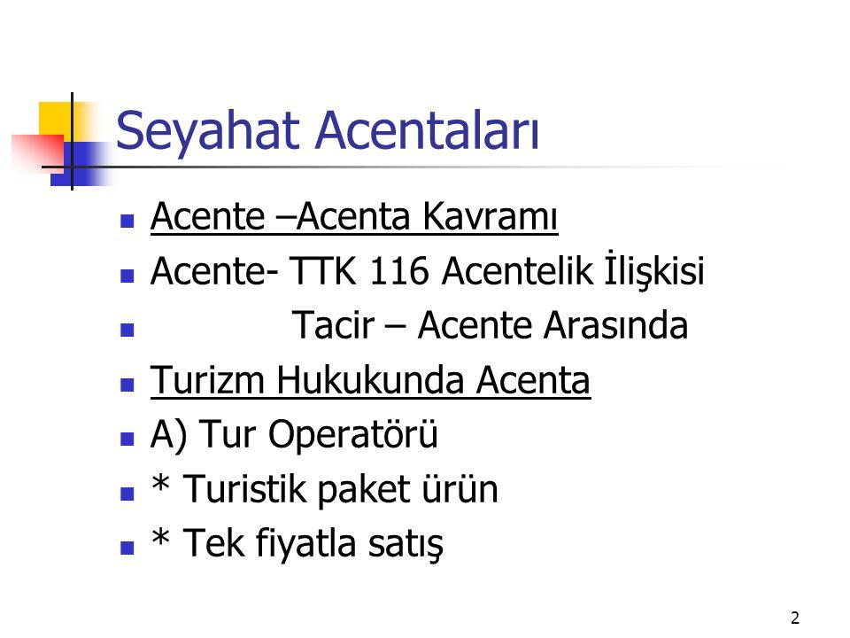 13 Türkiye Seyahat Acenataları Birliği -TÜRSAB Niteliği 1.