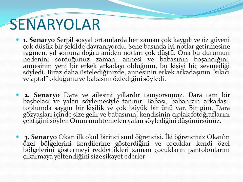 SENARYOLAR 1.