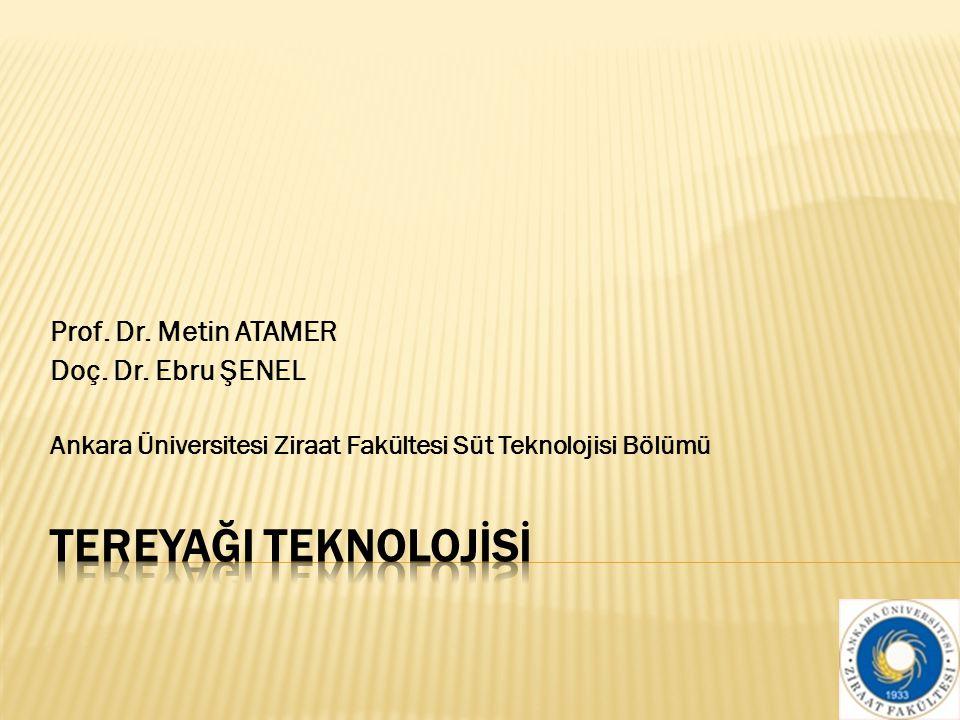 Prof.Dr. Metin ATAMER Doç. Dr.