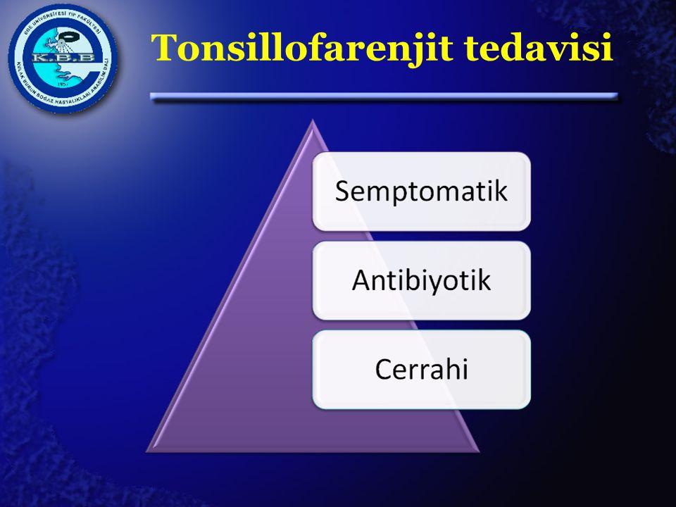 Tonsillofarenjit tedavisi