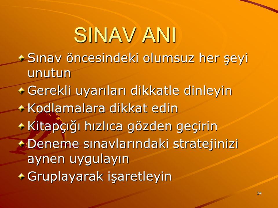 SINAV ANI