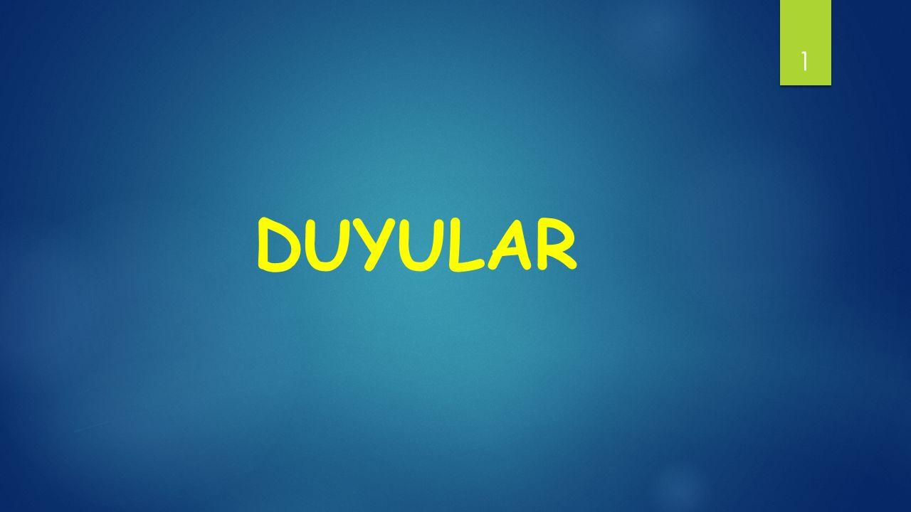 DUYULAR 1