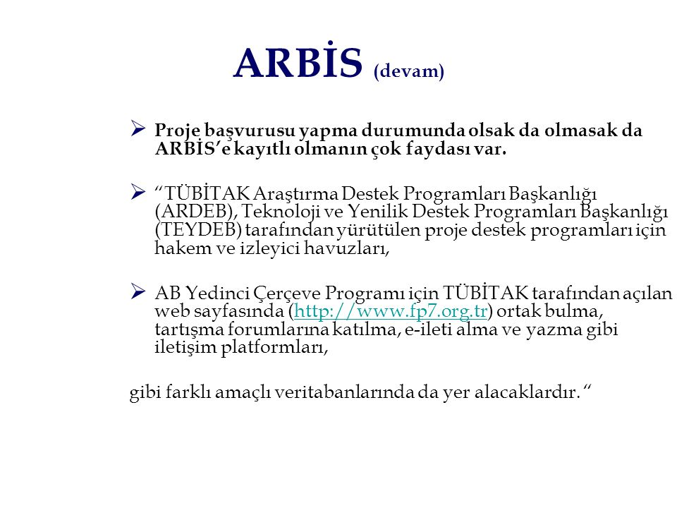 2232 Yurda Dönüş Burs Programı Burs BİDEB ??.