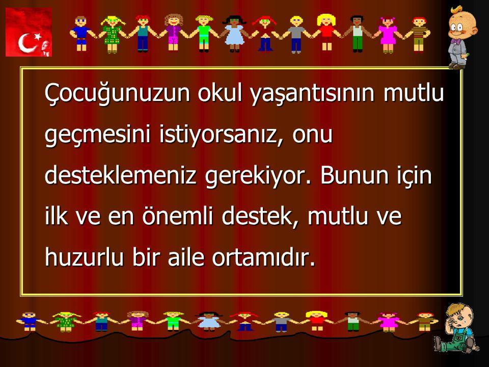 Mehmet Gürel İlköğretim Okulu Eğer çocuğunuz okulun kurallarını size sorarsa, çok genel hatları, yumuşak bir ses tonuyla ve onu ürkütmeyecek sözcükler