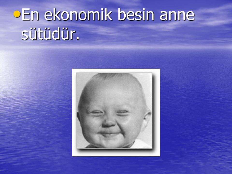En ekonomik besin anne sütüdür. En ekonomik besin anne sütüdür.