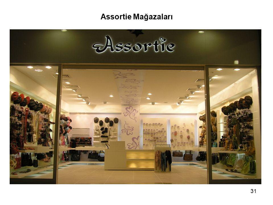 31 Assortie Mağazaları