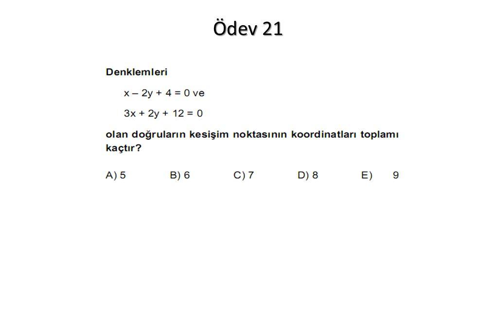 Ödev 21
