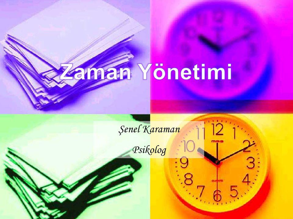 ZAMAN YÖNETİMİ SORUNLARI 2.