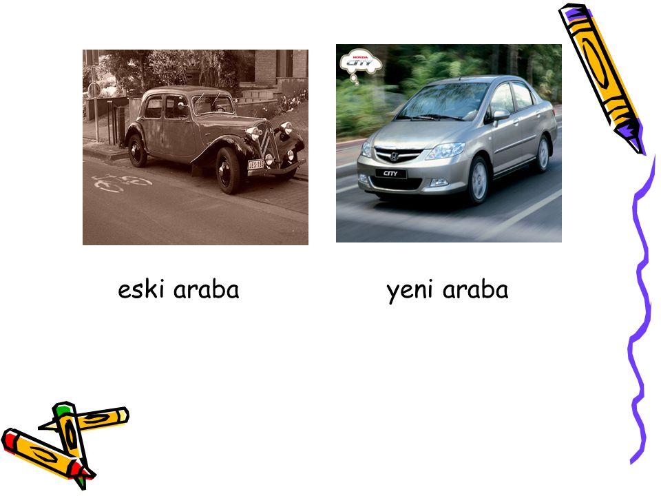 eski araba yeni araba