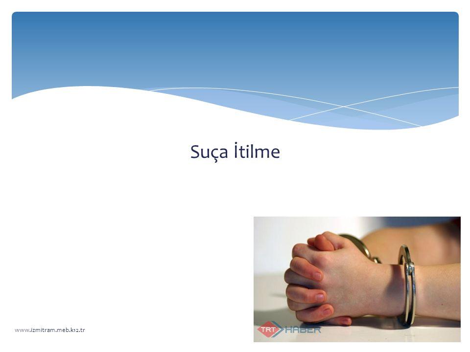Suça İtilme www.izmitram.meb.k12.tr