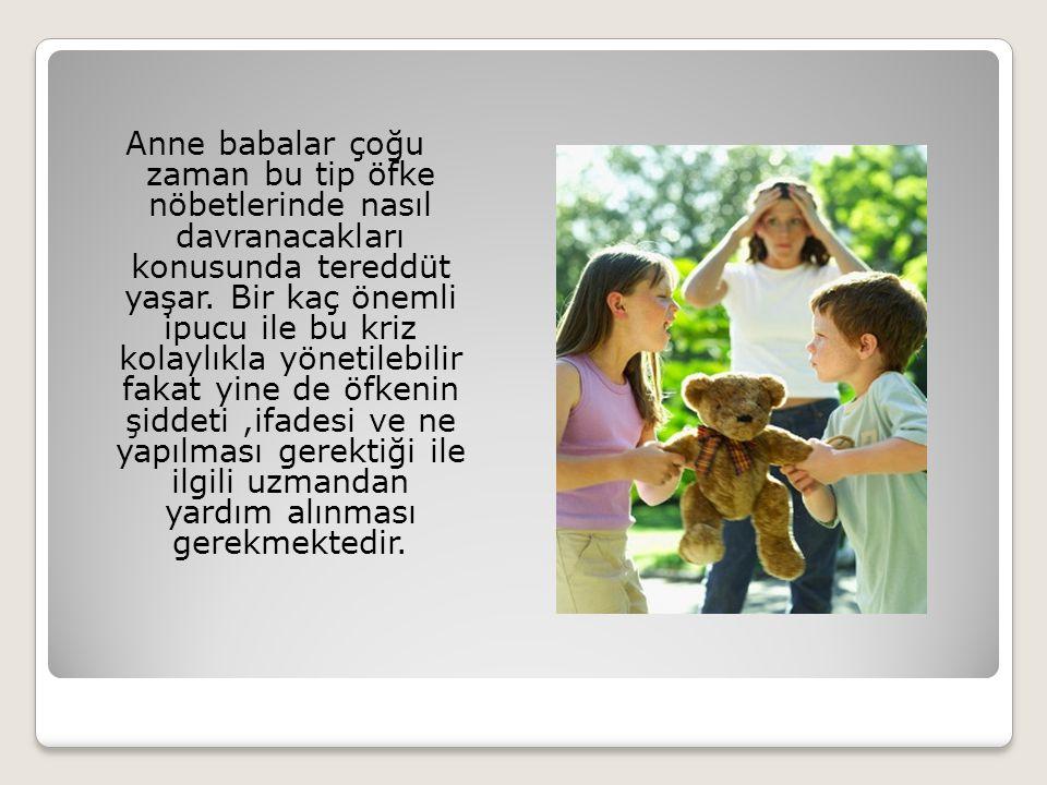 4- Çocuk gergin ve sinirliyken onunla tartışmamalı, sakinleşmesini beklemeli ve daha sonra davranışı ile ilgili konuşulmalıdır.