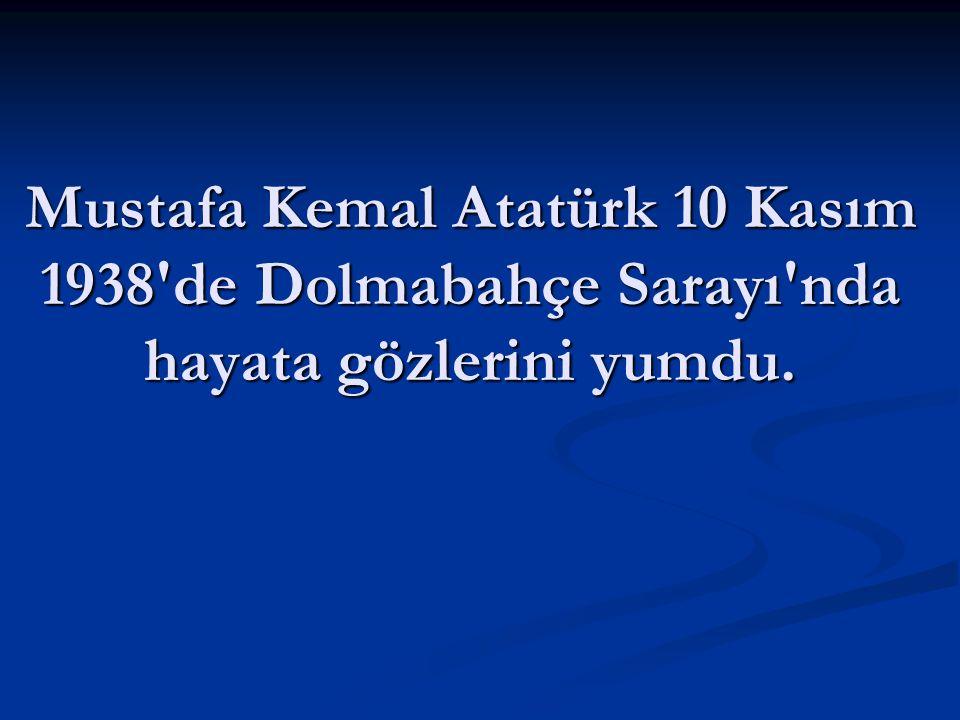 Türk Milleti Atatürk önderliğinde Kurtuluş Savaşı nı kazandı.