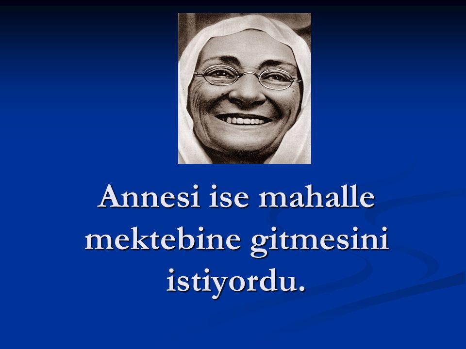 Atatürk'ün babası, oğlu Mustafa'nın Şemsi Efendi İlkokuluna gitmesini istiyordu.