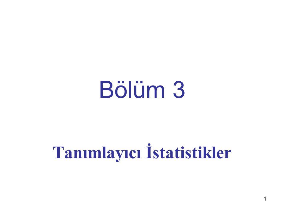 102 16) Basıklık Ölçüsü Aşağıdaki A ve B dağılımlarının ortalamaları, değişkenlik ölçülerinin aynı olmasından dolayı ve hatta ikisinin de simetrik olmalarından dolayı bu iki dağılışı ayırt etmek için Basıklık Ölçüsü kullanılır.