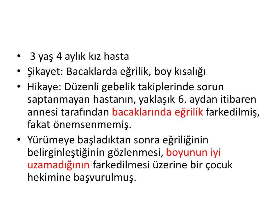 Etiyolojik sınıflandırma KALSİYOPENİK RİKETS (PTH YÜKSELİR) 1.