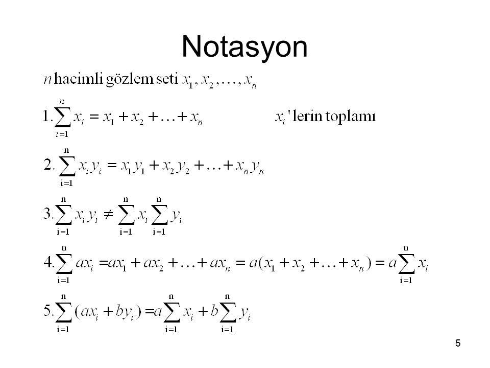 5 Notasyon