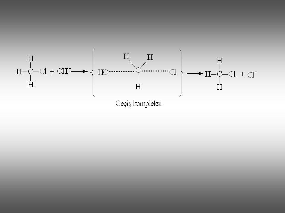 Mekanizmasında hetero grubun büyük molekülden ayrılması ve nükleofilin bağlanması aynı anda olur ve mekanizma bir geçiş kompleksi üzerinden yürür.