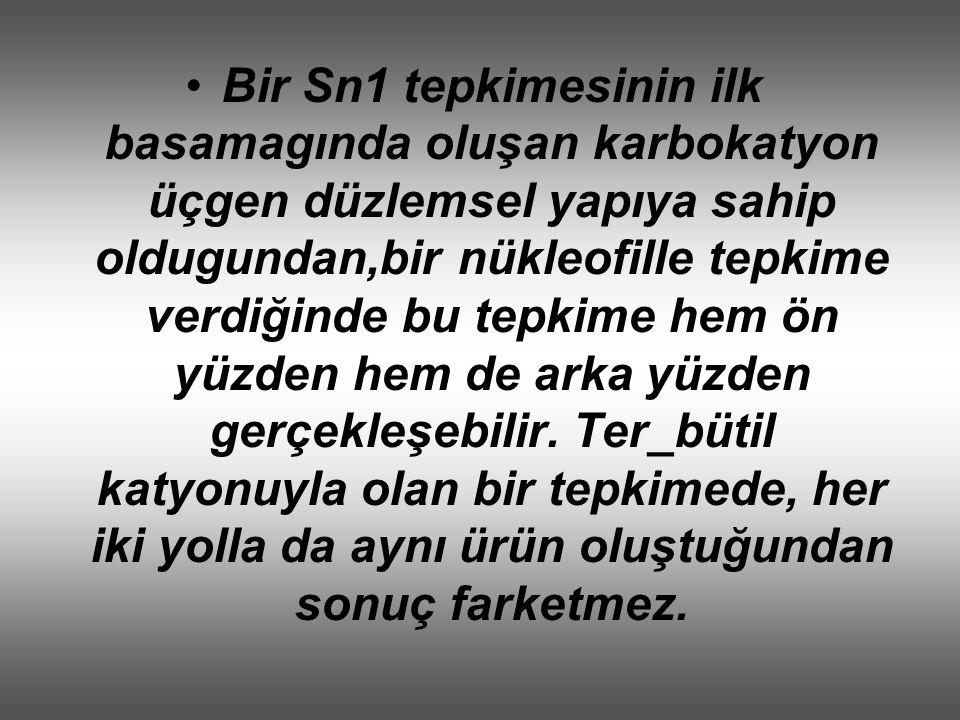 SN2 TEPKİMESİ