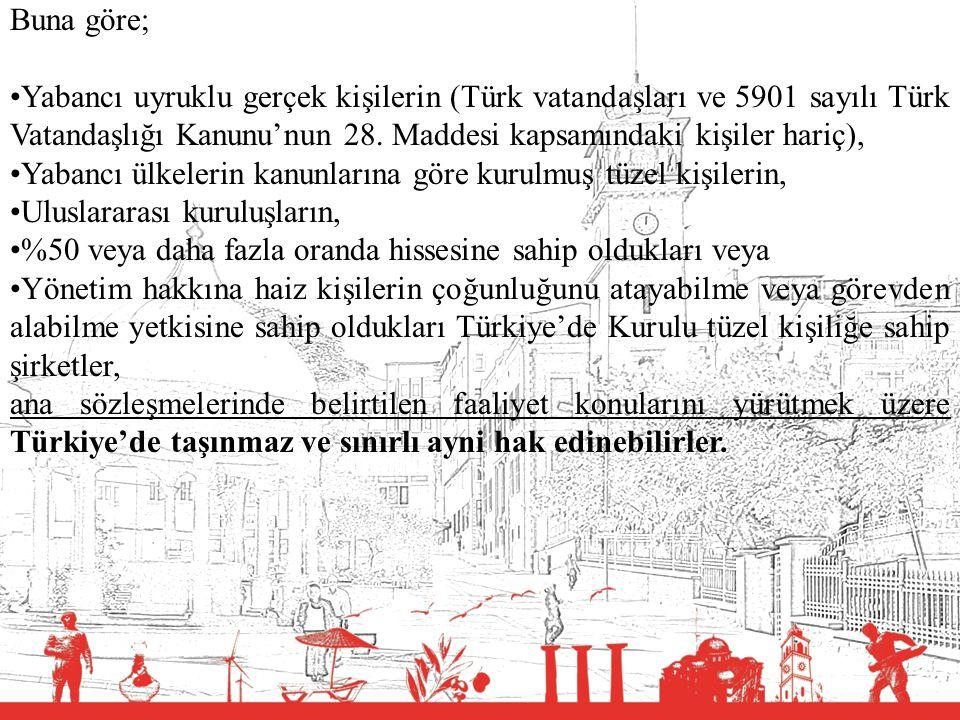 T.C. BALIKESİR VALİLİĞİ Buna göre; Yabancı uyruklu gerçek kişilerin (Türk vatandaşları ve 5901 sayılı Türk Vatandaşlığı Kanunu'nun 28. Maddesi kapsamı