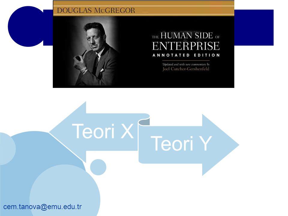 Teori X Teori Y