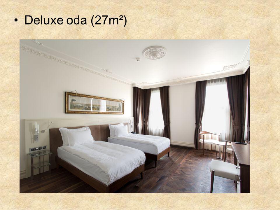 Deluxe oda (27m²)