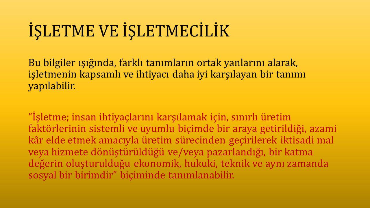 TEMEL GİRİŞİMCİLİK ÖZELLİKLERİ 3.