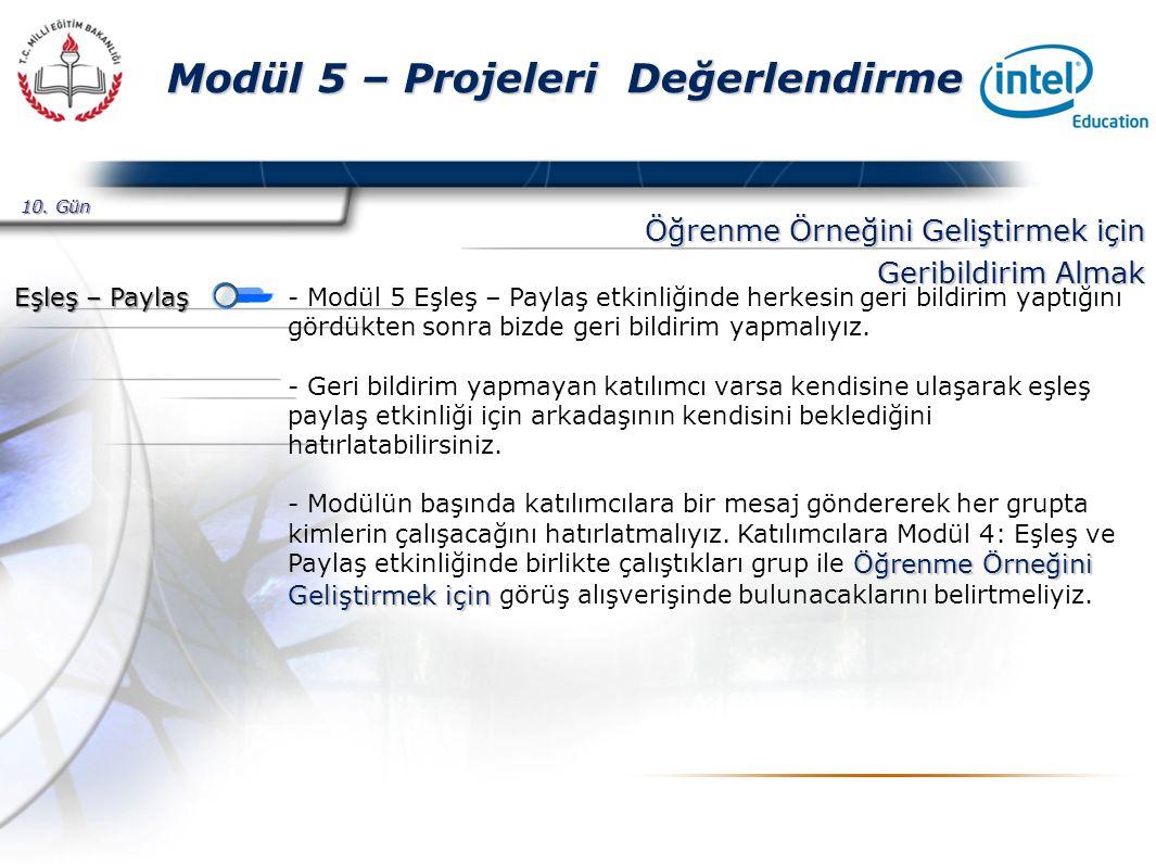 Presented By Harry Mills / PRESENTATIONPRO Modül 5 – Projeleri Değerlendirme Etkinlik 4 – Kuramdan Uygulamaya - Etkinliğe başlamadan önce Wiki sayfasını inceleyerek katılımcı sayısı kadar satırlar eklemeliyiz.