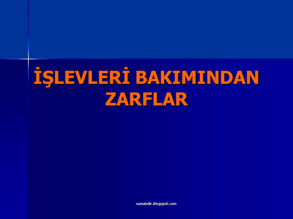 sunuindir.blogspot.com İŞLEVLERİ BAKIMINDAN ZARFLAR