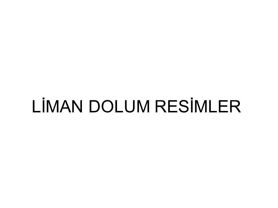 LİMAN DOLUM RESİMLER