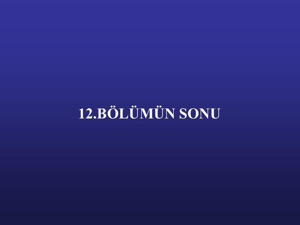 12.BÖLÜMÜN SONU
