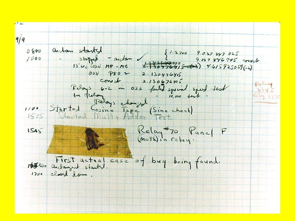 Ayıklama-Debugging Beklenen hedefleri sağlamaları amacıyla bilgisayar programında veya donanım parçalarında kusurları (böcekleri) bulmak veya azaltmak için yapılan süreç Ayıklamanın, özellikle sıkı birleşimli altsistemlerde yapılması zordur; bir altsistemdeki değişmeler diğerlerinde pek çok böceğe sebep olabilir